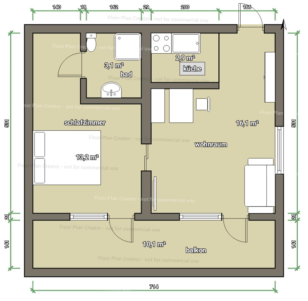 Apartment Serfaus F 252 R 1 Bis 3 Personen Im Ferienhaus
